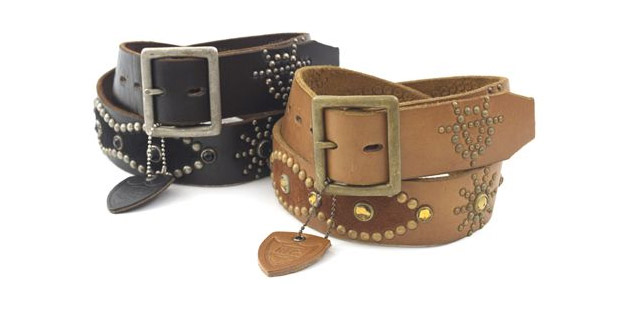 Victim x Hollywood Trading Company (HTC) Leather Belts