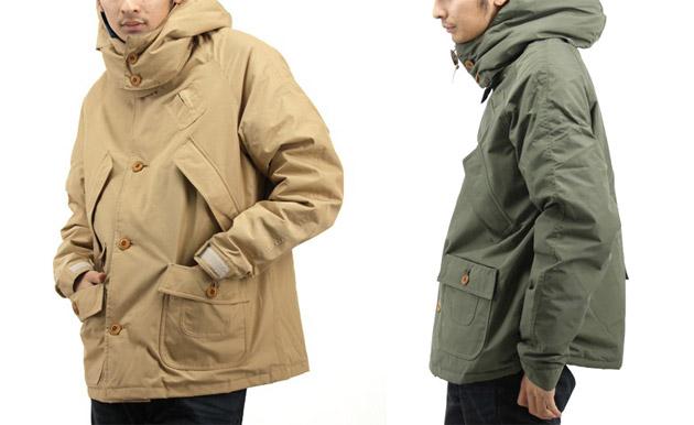 WASTE(twice) x Mt. Rainier Design 60/40 Parka Jacket