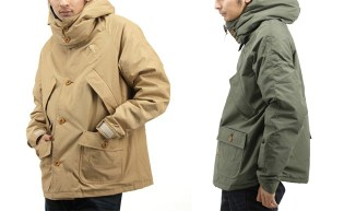 WASTE(twice) x Mt. Rainier Design 60/40 Parka Jacket