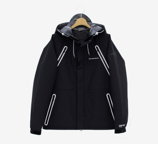 White Mountaineering BLK Gore-Tex Pro Shell Wolf Jacket