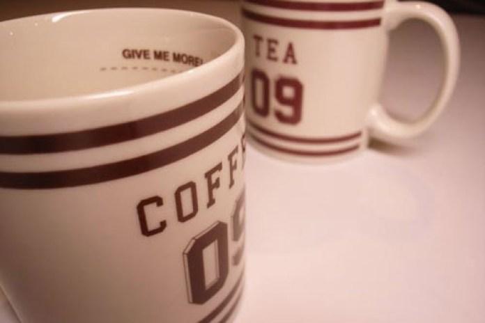 """WTAPS """"Coffee or Tea?"""" Mugs"""