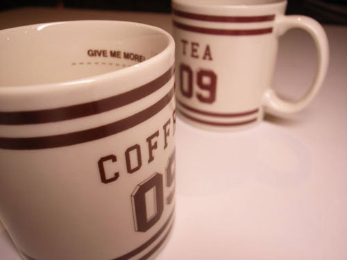 "WTAPS ""Coffee or Tea?"" Mugs"
