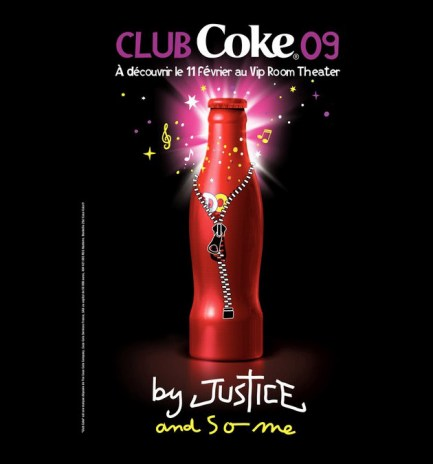 Justice & SO ME x Club Coke 2009