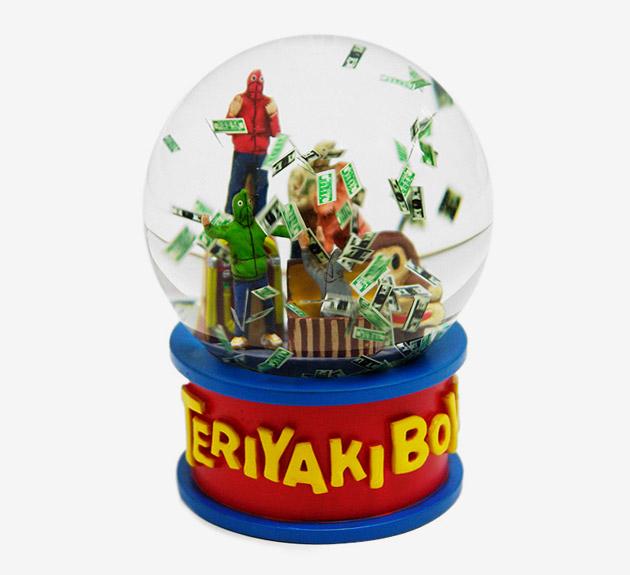 A Bathing Ape Teriyaki Boyz Snow Dome