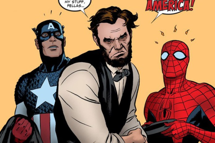"Abraham Lincoln x The Amazing Spider-Man ""Gettysburg Distress"""