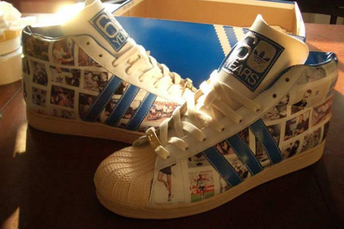 "Hypethetic | ""60 Years Of Soles And Stripes"" Custom Sneakers"