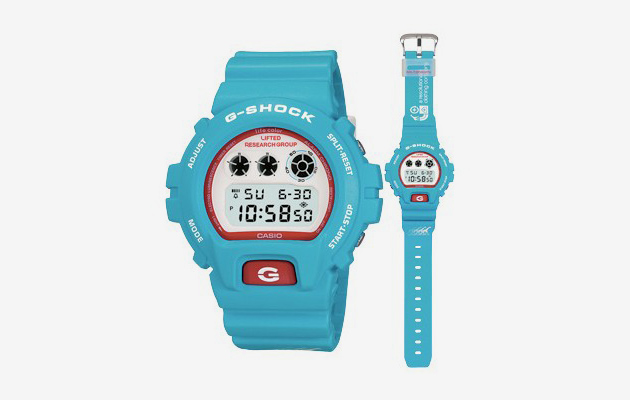 Casio G-Shock Collaborations: DQM & LRG
