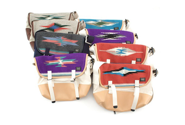 Chimayo Weaving x Beams x Porter Messenger Bag