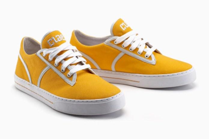 CLAE Kennedy Tangerine Sneakers