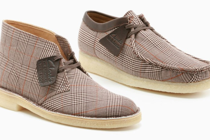 Clarks Originals Prince of Wales Check Collection