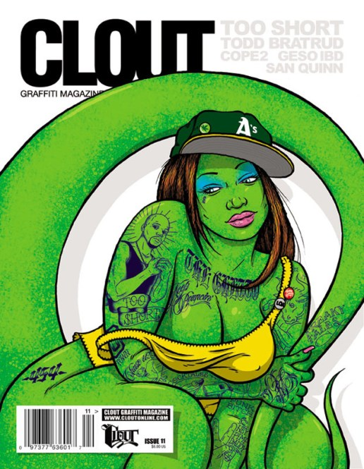 CLOUT Magazine Issue No. 11 featuring Todd Bratrud
