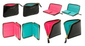 Comme Des Garcons Glossy Wallet Collection