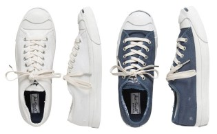 Converse Jack Purcell Distressed Pack for J.Crew