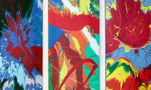 Damien Hirst x Supreme Skate Decks