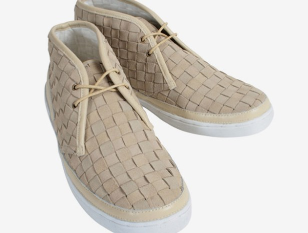 F-Troupe Suede Woven Chukka