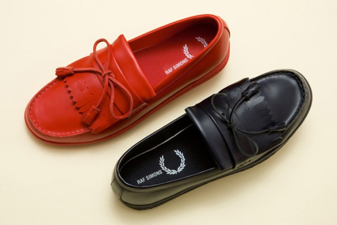 Raf Simons x Fred Perry Tonal Loafers