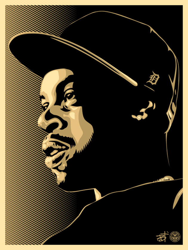 "J. Dilla x Obey ""A Personal Appreciation"" Print"