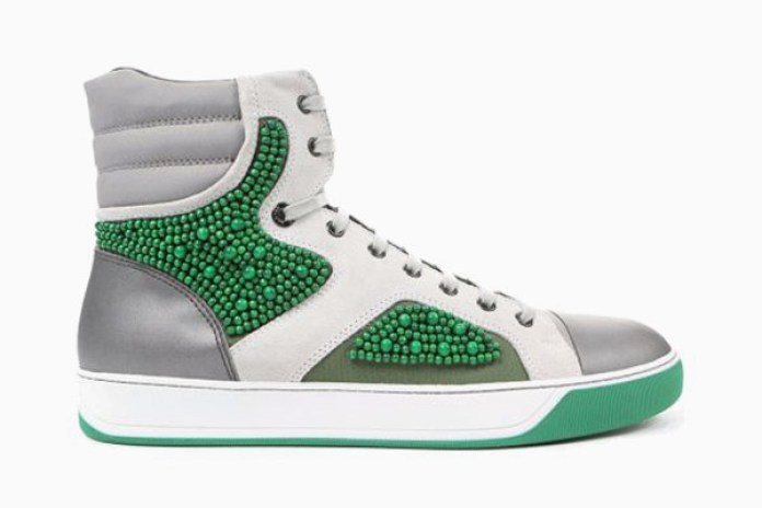 Lanvin Pearl Ankle Sneakers