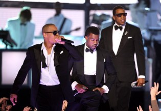 "M.I.A., Lil Wayne, Jay-Z, Kanye West, T.I. ""Swagga Like Us"" @ 51st Annual Grammy Awards"