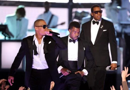 "M.I.A., Lil Wayne, Jay-Z, Kanye West, T.I. ""Swagga Like Us"" @ 51st Annual Grammy Awards"