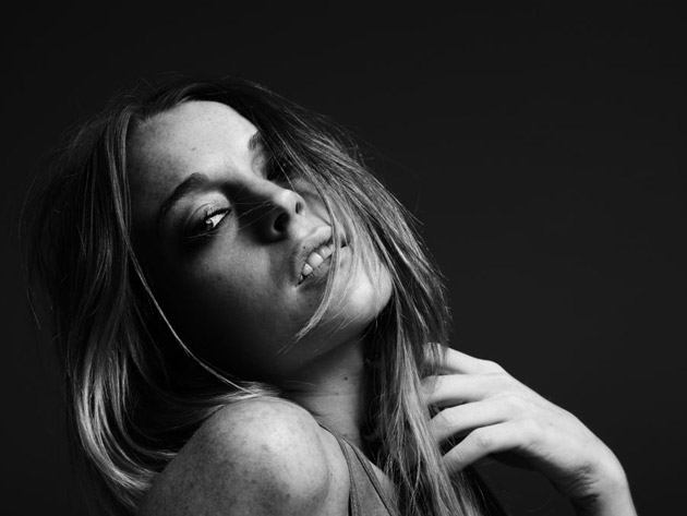 Lindsay Lohan by Hedi Slimane Photoshoot