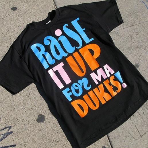 """""""Ma Dukes"""" Yancey x Parra x Stones Throw T-shirt"""