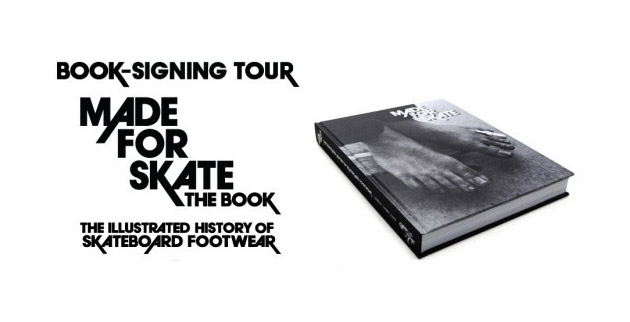 Made For Skate Book Signing at HUF