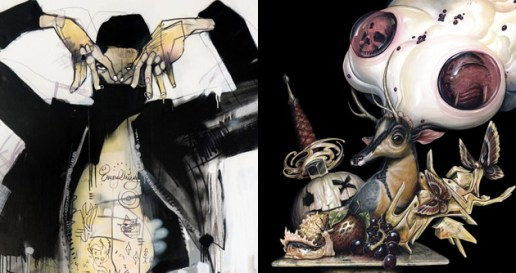 "FIFTY24SF Gallery Presents Magic Trick by Anthony Lister & Seeing Things by Greg ""Craola"" Simkins"