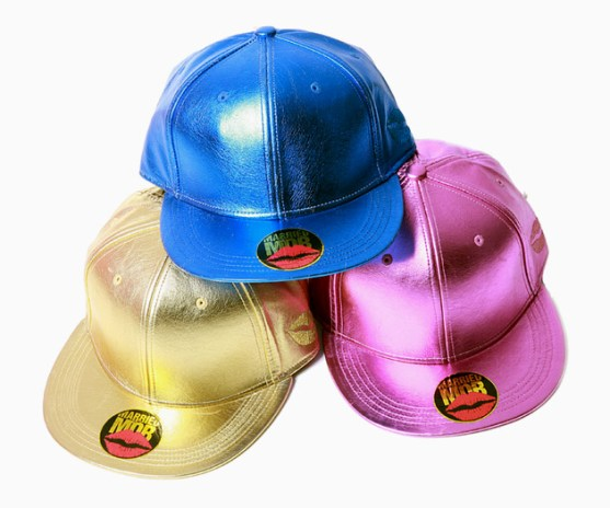 Married to the Mob Shiny Fitted Cap