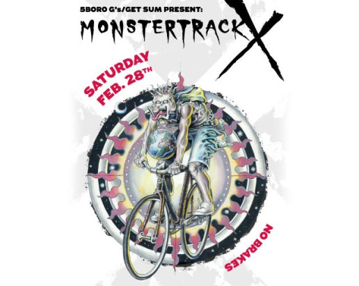 Monster Track X Bike Race NYC