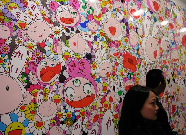 Takashi Murakami Exhibition at Gagosian London