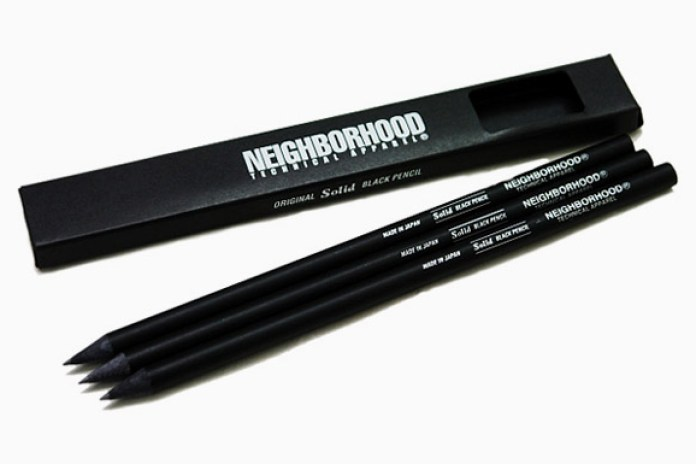 Neighborhood Black Pencil Set