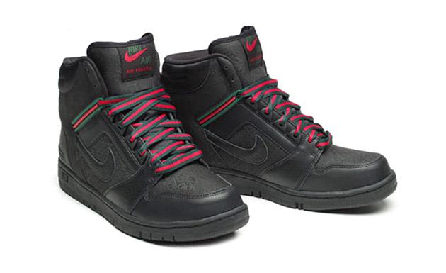 "Nike Air Force II Premium ""Gucci"" Colorway Sneaker"
