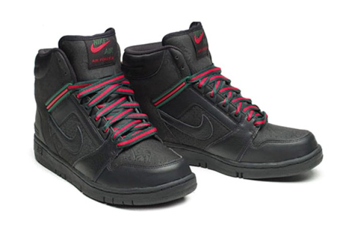 "Nike Air Force II Premium ""Gucci"" Colorway Sneaker"