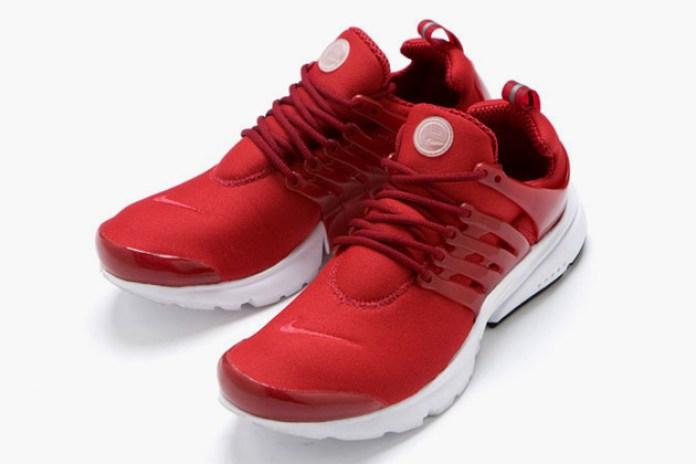 Nike Air Presto Tonal Red Colorway