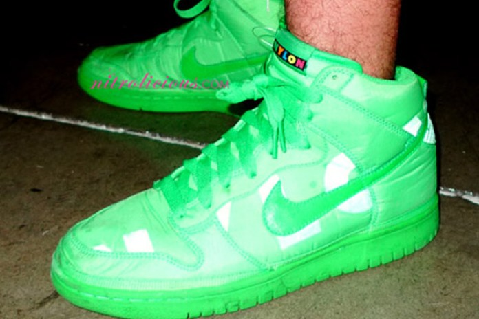Nylon Magazine x Nike Sportswear Dunk High - A Closer Look