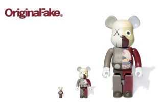OriginalFake x Medicom Toy Dissected Companion Bearbrick