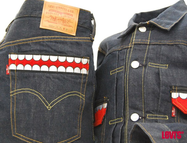 OriginalFake x Levi's KAWS Denim