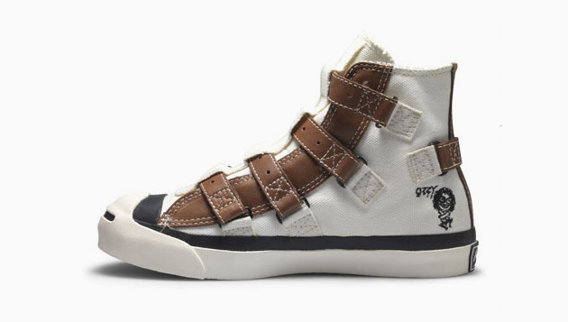 "Ozzy Osbourne x Converse Jack Purcell ""Straight Jacket"" Hi"