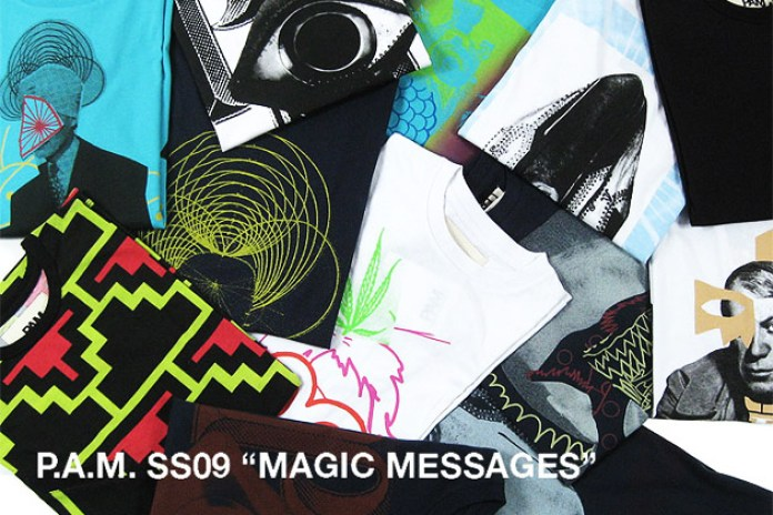 """PAM 2009 Spring/Summer """"Magic Messages"""" Collection"""