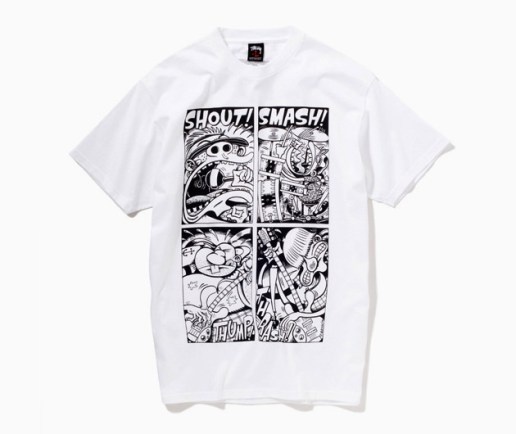 Peter Bagge x Stussy Punk Comic T-Shirt