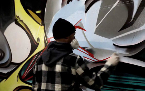 Ironlak & SuperVision presents Pose & Ewok of The Seventh Letter Crew