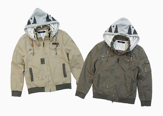 ShapeL Military Hood Jacket