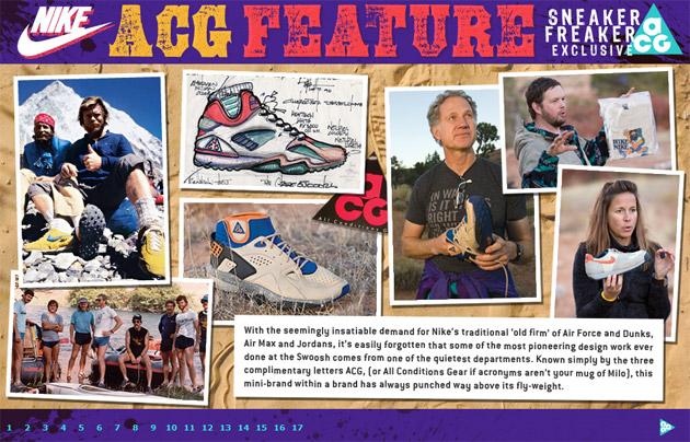 Sneaker Freaker Nike ACG Feature