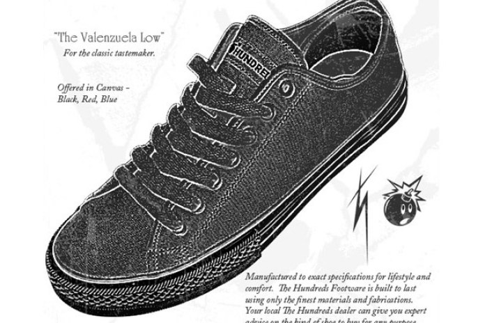The Hundreds Valenzuela Low Sneakers