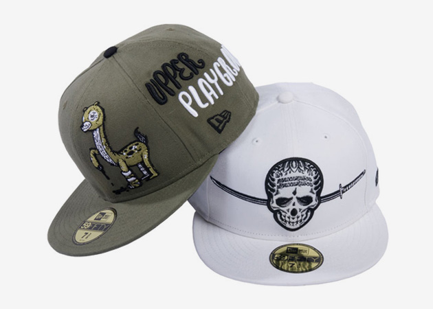 Usugrow & Michael Sieben x Upper Playground New Era 59Fifty Caps