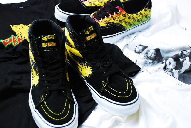 Bad Brains x Vans 2009 Spring/Summer Collection