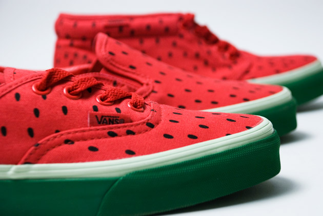 Vans 2009 Spring Watermelon Womens Chukka   Era   Slip-On