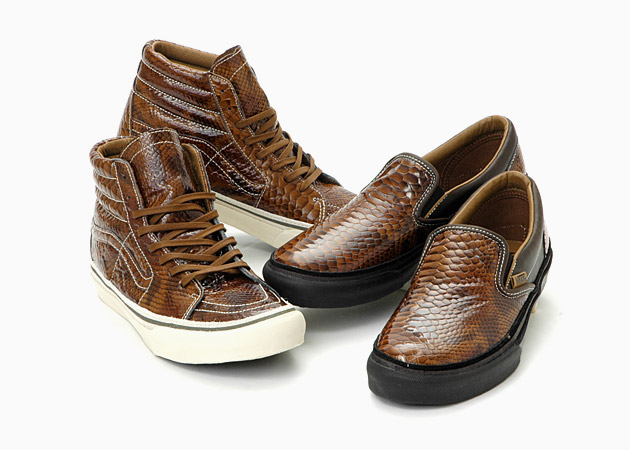 Vans Snake Skin Leather Pack