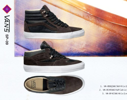 Vans Vault 2009 Spring/Summer Collection